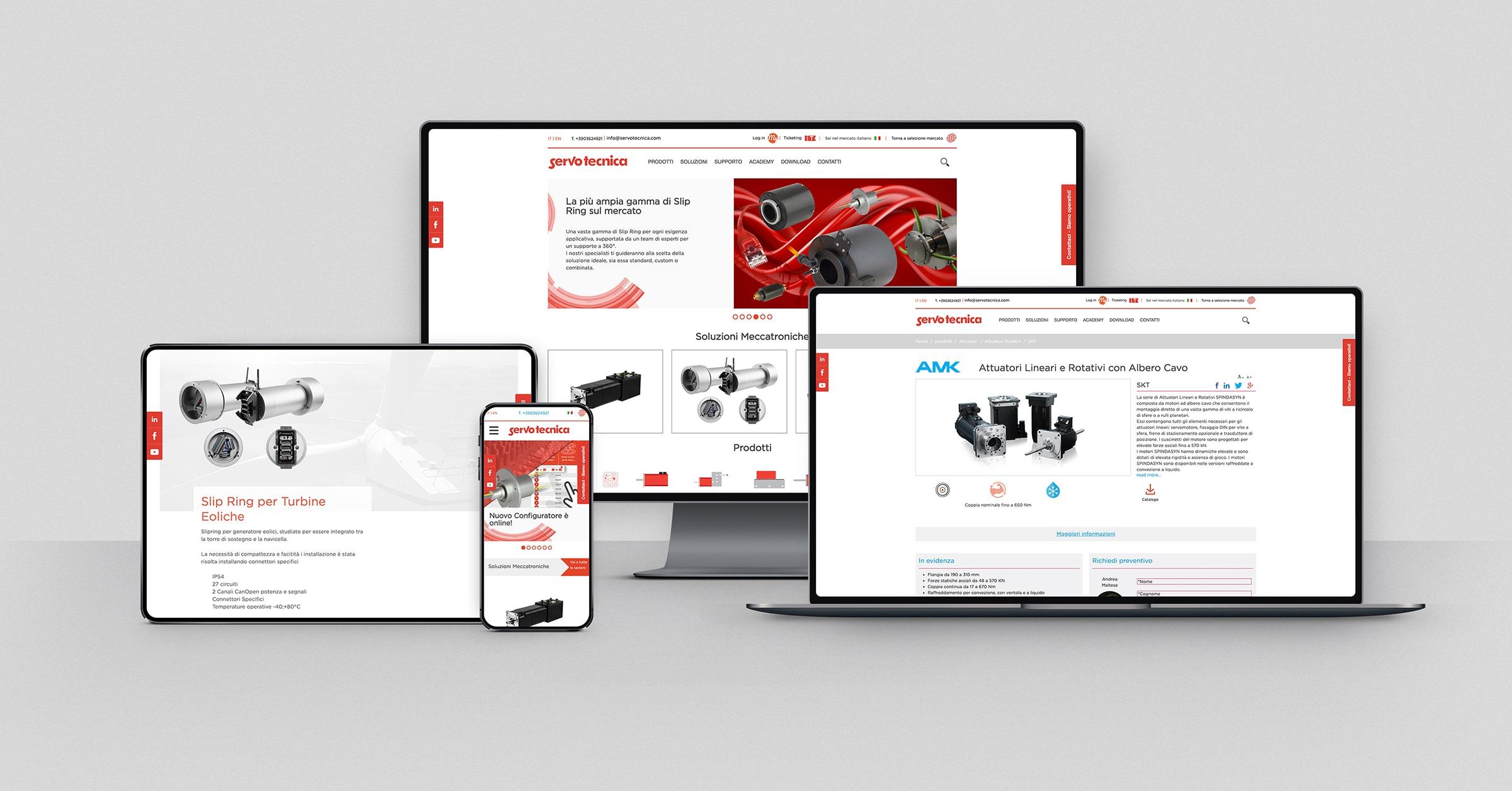 Panoramica dispositivi servotecnica.com